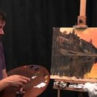 Early Morning Varanasi – Oil Painting Demonstration by James Willis (Part 1)