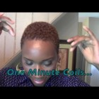 Tutorial: 1 Minute Coils| Short Hair Don't Care