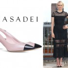 Taylor Schilling's Casadei 'Daytime' Pumps