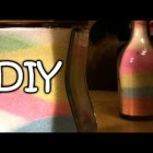 DIY Colored Salt Made With Colored Chalk – Sand Art – Creative Decor Ideas