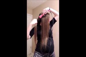 Easy Curls Hair Tutorial