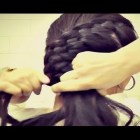 ★HAIR TUTORIAL | CUTE CURLY HAIRSTYLES – FOUR 4 STRAND FRENCH BRAID HALF UPDOS FOR MEDIUM LONG HAIR