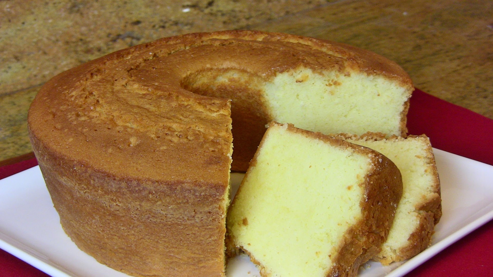 How To Make A Homemade Lemon Pound Cake