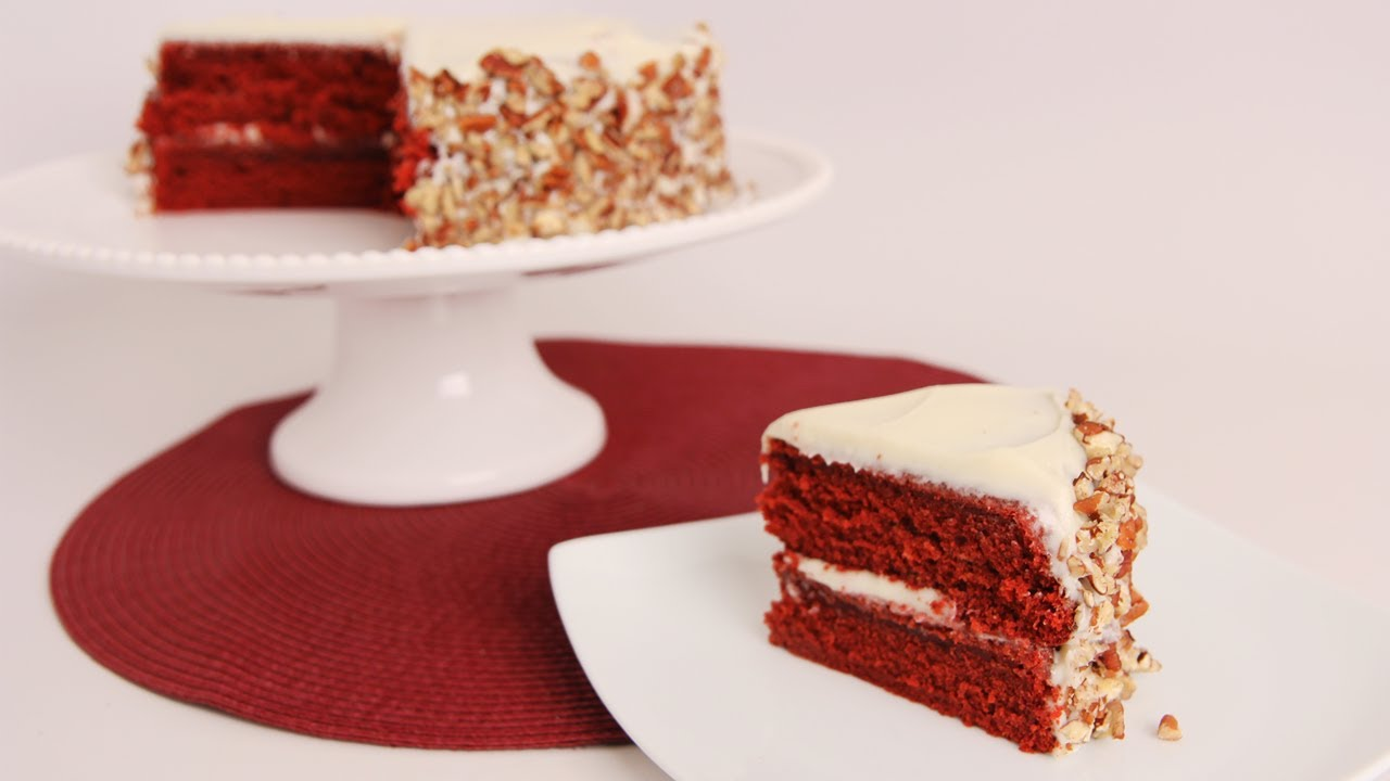 Red Velvet Cake Recipe Laura Vitale
