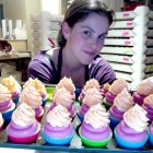 Cupcake soap making