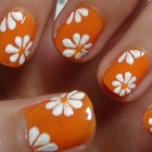 Easy Nails Art Design Using A Toothpick  – Simple Flower Nail Art for Beginners