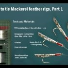 How To Tie Mackerel Feather Sea Fishing Lure Rigs ( Sabiki Rigs)