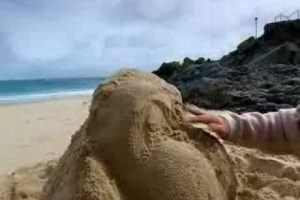 Magic Wanda – Making Sand Sculptures
