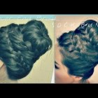 ★CUTE HAIRSTYLE | How to NEVER-ENDING FRENCH BRAID SOCK BUN TUTORIAL FOR MEDIUM LONG HAIR | UPDOS