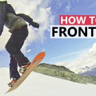 How to do Your First Frontside 360 – Beginner Snowboard Tricks