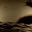 Sand Art Technique : Landscape