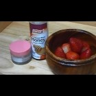 """""""How to Make Anti Aging Honey Strawberry Natural Homemade Cream Face Mask for Aging Mature Skin"""""""