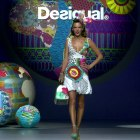 ‪Madrid Fashion Week – Spring Summer 2015 Desigual‬ catwalk