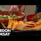 Spicy Mexican Soup with Tortillas & Salsa – Gordon Ramsay