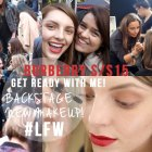 Come to the Burberry SS15 Show with Me & Makeup Preview! | essiebutton