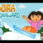 Dora the Explorer: 48 Snowboard Game 2015