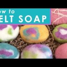 How to Make Felted Soap – DIY Craft  & Gift Idea