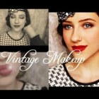 1920s Vintage Makeup Look. A tutorial by Soniaismyname5