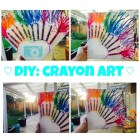 DIY: Crayon Melting Art and Tips