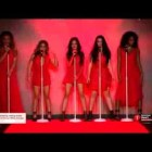 Fifth Harmony Walk The Runway at Go Red For Women Red Dress Collection™ 2015