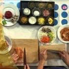 Foodelicious Ep19 Korean Mandu vs Italian Ravioli, Tasty and Stylish Neighborhoods, Cabbage Kimchi