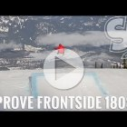 How to Improve Frontside 180s on a Snowboard