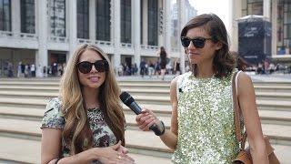 New York Fashion Week | Spring/Summer 2015 | Street Styles | Portero