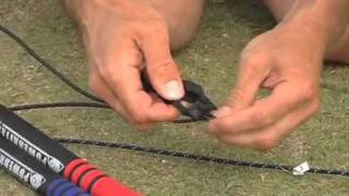 How to fly a quad-line traction kite: Beamer IV by HQ Powerkites