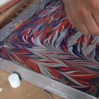 Painting On Water: Turkish Marbling AKA Ebru Class In Istanbul 2