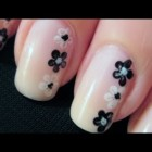 Simple Flower Nail Art | CutePolish | Disney Style