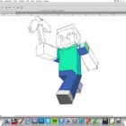 Speed Painting – Minecraft (Steve)
