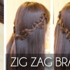 Zig Zag Braid Hair Tutorial | Easy Hairstyles