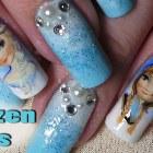 Disney Inspired; Frozen Nail Art – Tutorial/Timelapse