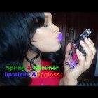 Favorite Spring & Summer Lipstick/ DRUGSTORE 2015
