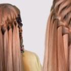 Hairstyle French Waterfall for Medium Long Hair Tutorial| Прическа Французский Водопад| Видео Урок