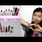 My Lipstick Collection 2015