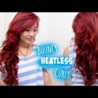 Overnight Heatless Curls/Waves for Medium Long Hair l Beautiful Bouncy Voluminous Curls Tutorial