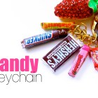 Scented Candy Bar Key Chain Charms – Polymer Clay Food Jewelry Tutorial