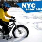 Snow Biking NYC!