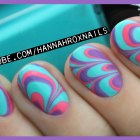 Water Marble Nail Art (Tips & Tricks!)