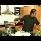 Chef happyK preparing a Vietnamese Chicken Soup at Culinary Corner – Sri Lanka Morning Show