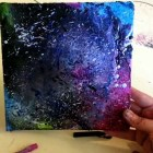 DIY by Kids: Melted Crayon Art