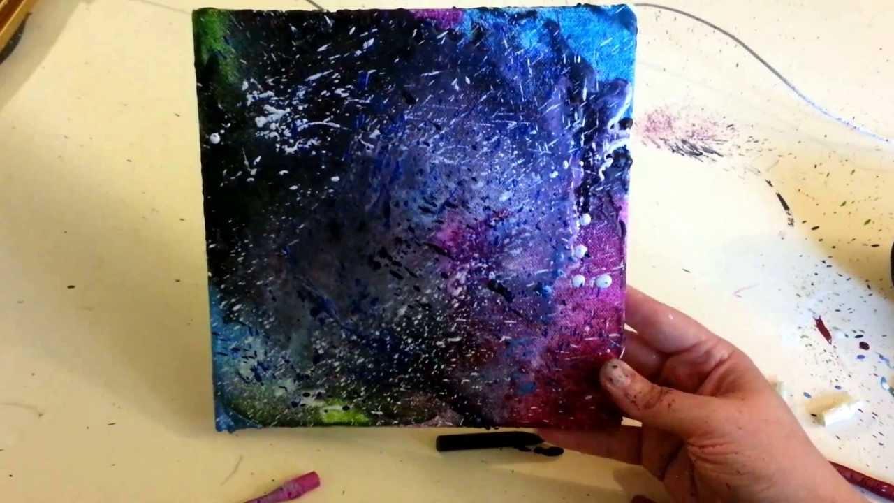 Diy By Kids Melted Crayon Art Qtiny Com