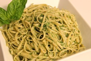 Linguine with Pesto Recipe – Laura Vitale – Laura in the Kitchen Episode 346
