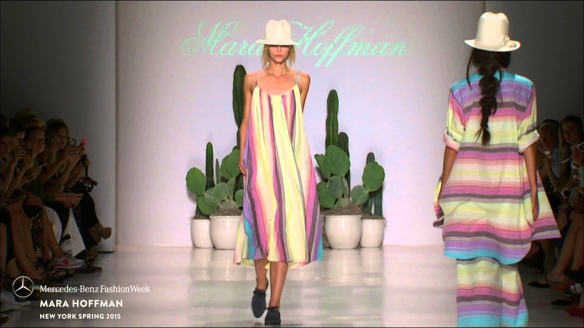 MARA HOFFMAN: MERCEDES-BENZ FASHION WEEK S/S15 COLLECTIONS