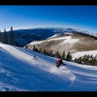 Private on-ranch Snowcat Skiing