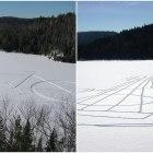 Snow-tagging: Canada's Beautiful New Ice-Art Craze