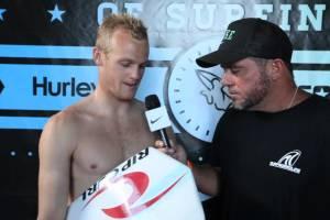 Stu Kennedy Round 3 U.S. Open of Surfing 2012 on Alternative Equipment